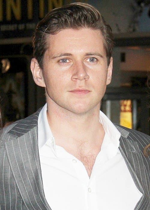 Allen Leech at the UK film premiere of The Adventures of Tintin The Secret of the Unicorn in October 2011