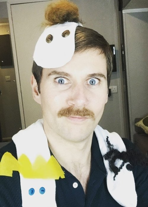 Allen Leech in a selfie in December 2018