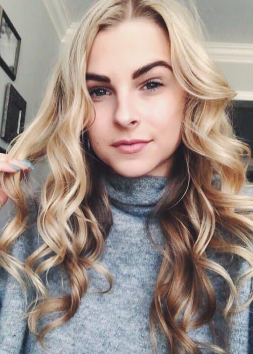 Alyssa Trask in an Instagram selfie as seen in December 2017