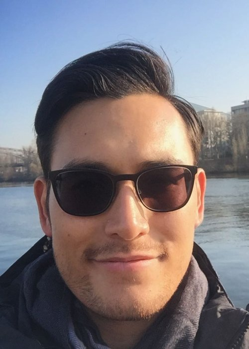 Arifin Putra in an Instagram selfie as seen in April 2017