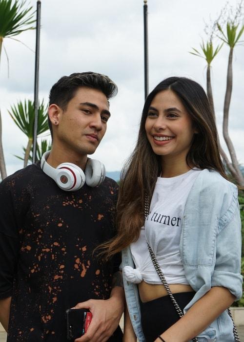 Axel Matthew Thomas with his sister Valerie Teresa Thomas