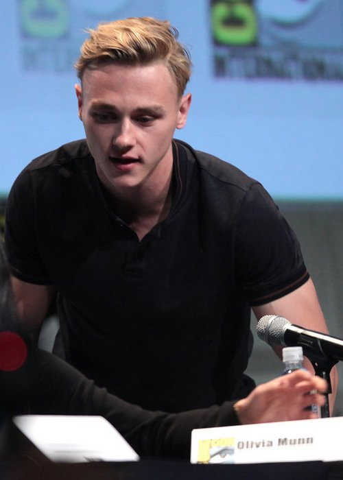 Ben Hardy at the 2015 San Diego Comic Con International