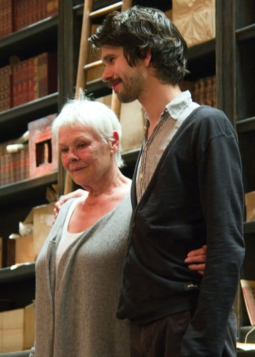 Ben Whishaw and Judi Dench at the Noel Coward Theatre as seen in May 2013