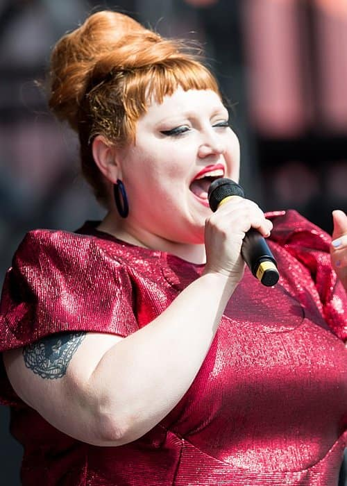 Beth Ditto at Rock am Ring in 2018