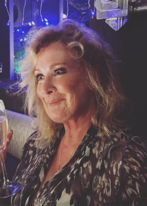 Beverley Callard as seen in January 2018
