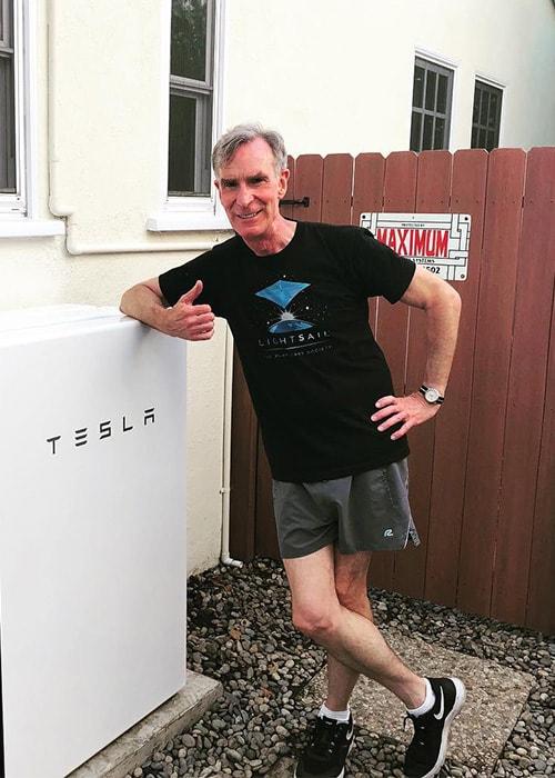 Bill Nye as seen on his Instagram in July 2017