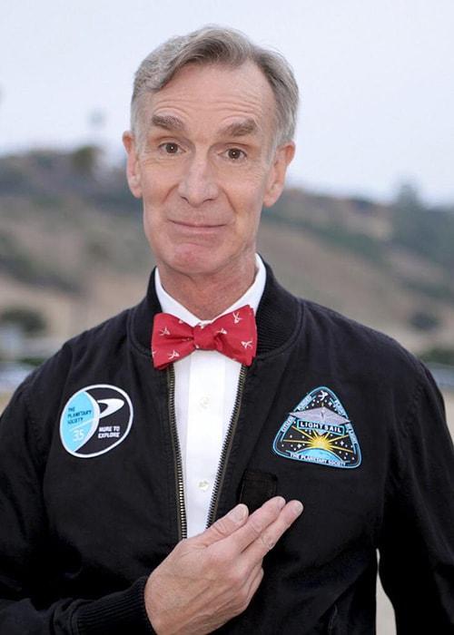 Bill Nye as seen on his Instagram in September 2017