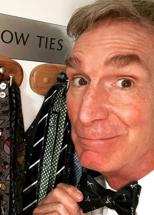 Bill Nye in an Instagram Selfie on National BowTie day 2018