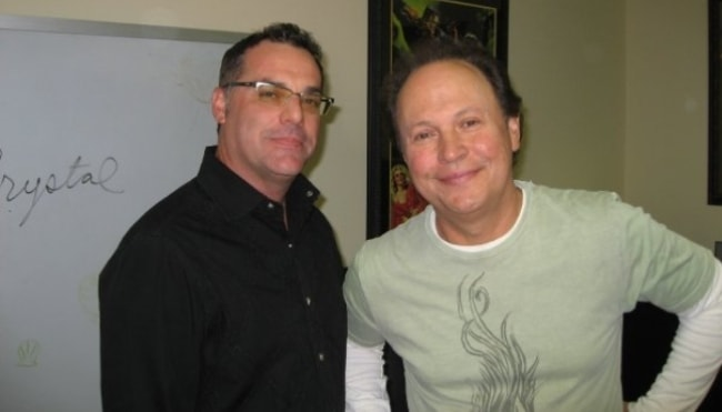 Billy Crystal (Right) as seen in September 2010