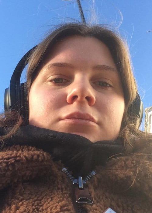 Brooke Bentham in an Instagram selfie as seen in January 2019