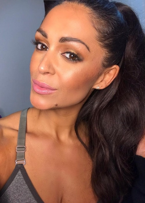 Casey Batchelor in a selfie in November 2018