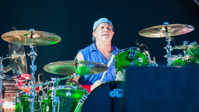 Chad Smith as seen while performing in June 2016