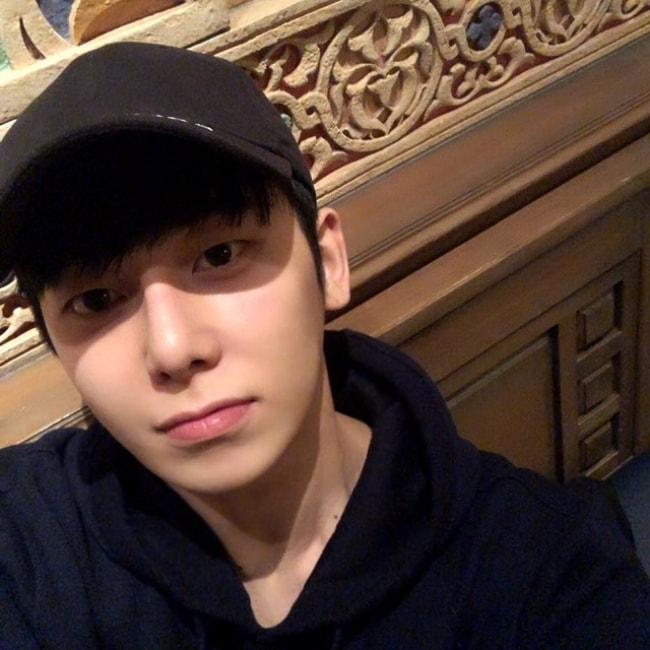 Chaejin in a selfie in December 2018