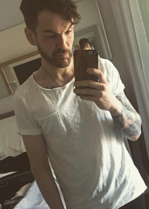 Colin Cloud in a selfie as seen in July 2018