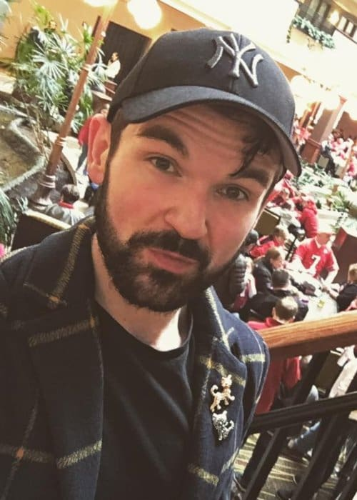 Colin Cloud in a selfie in April 2018