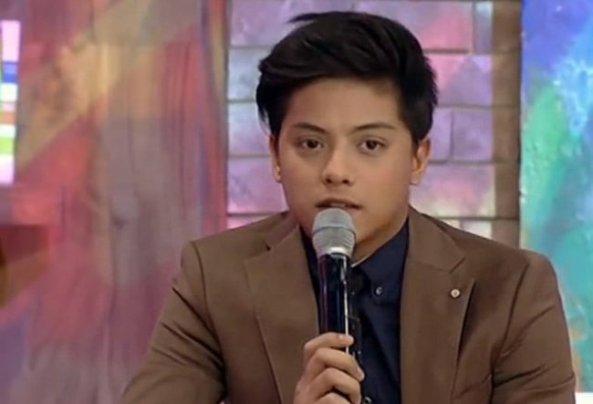 Daniel Padilla as seen in June 2014