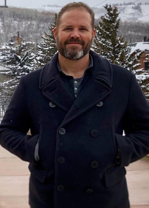 David Denman in an Instagram post as seen in January 2018