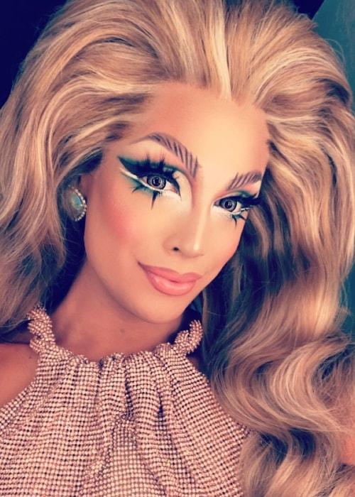 Drag Queen Valentina in a selfie in February 2018