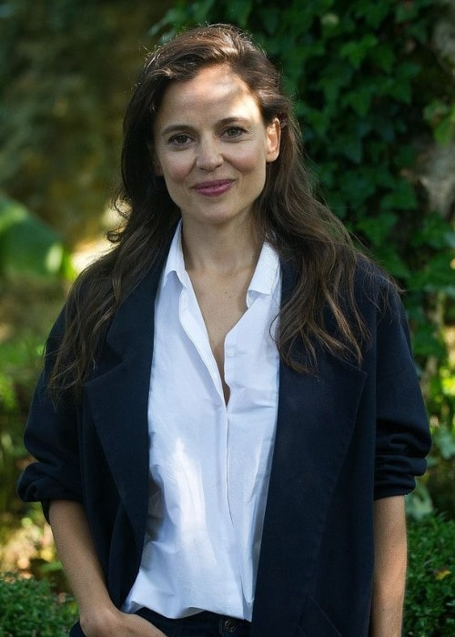 Elena Anaya as seen while smiling