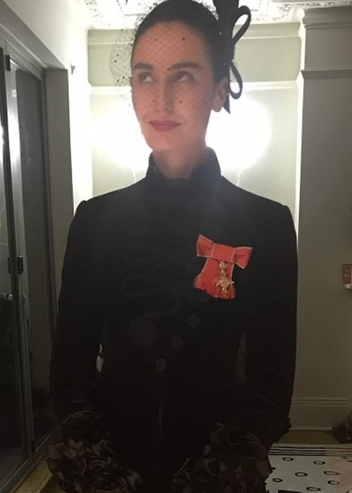 Erin O'Connor as seen in November 2018