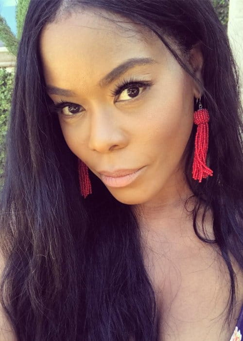 Golden Brooks in an Instagram selfie as seen in August 2018