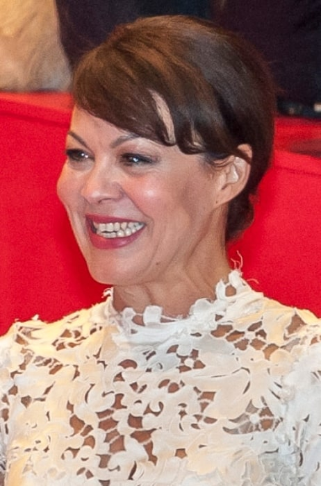 Helen McCrory at the premiere of the movie 'Queen Of The Desert' in February 2015