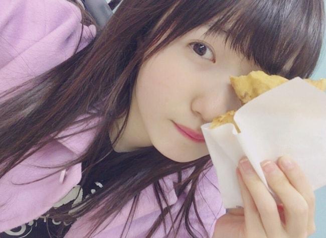 Hitomi Honda in a selfie in February 2018