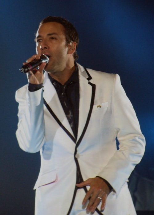 Howie Dorough as seen while performing in Newcastle Arena in April 2012