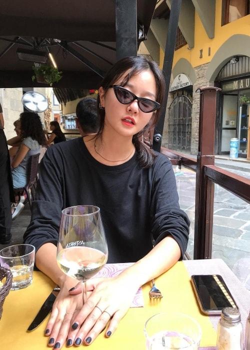 Hyoni Kang as seen in September 2018