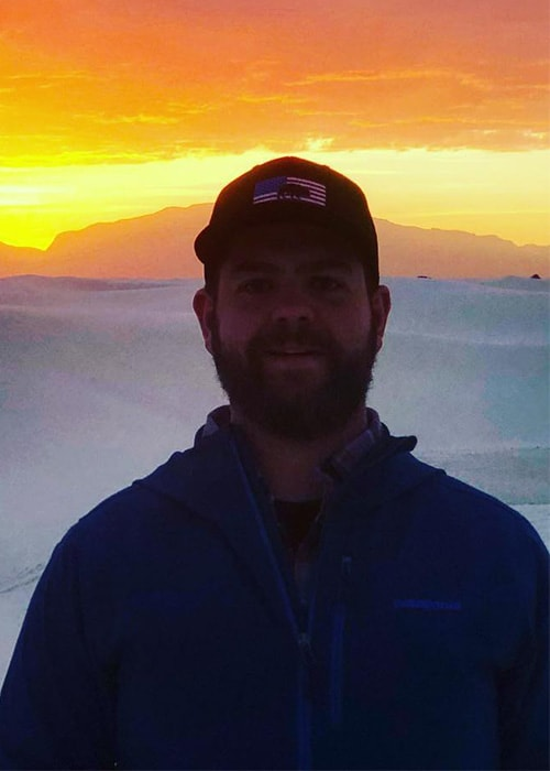 Jack Osbourne in White Sands National Monument