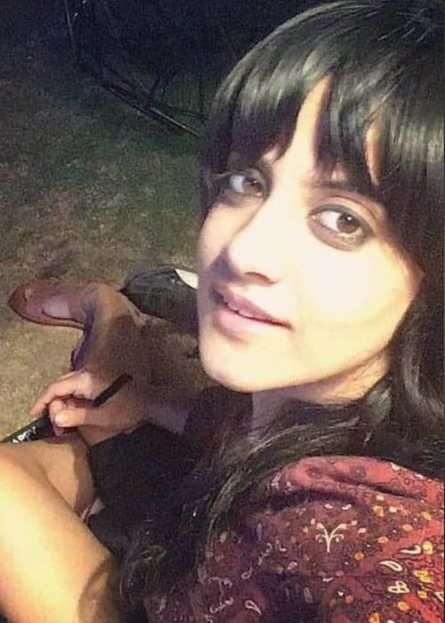 Jasleen Royal in an Instagram selfie in December 2018