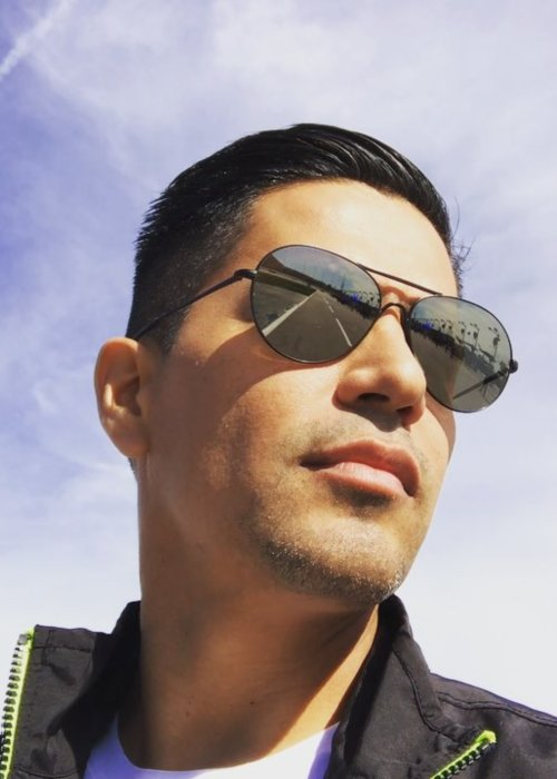 Jay Hernández in a selfie in October 2017