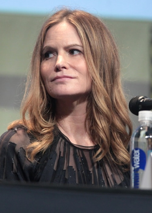 Jennifer Jason Leigh as seen at the 2015 San Diego Comic-Con International for 'The Hateful Eight' in San Diego, California
