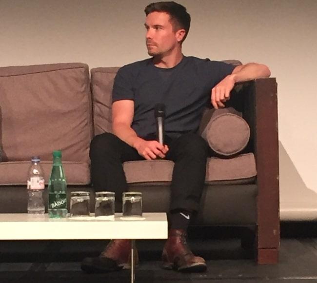 Joe Dempsie as seen in Paris in August 2018