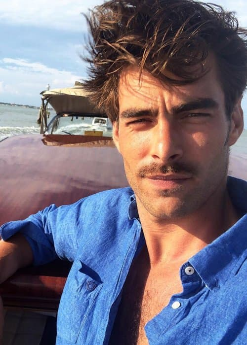 Jon Kortajarena in an Instagram selfie as seen in September 2018