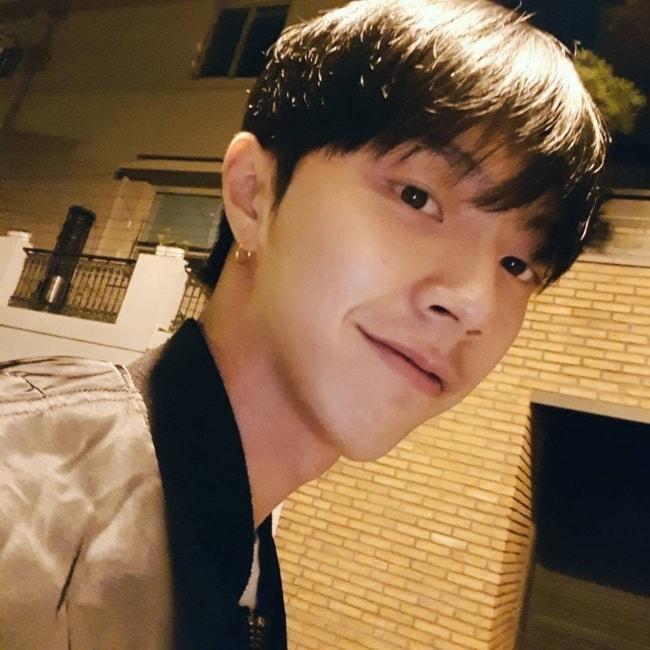 JunQ in a selfie in October 2017