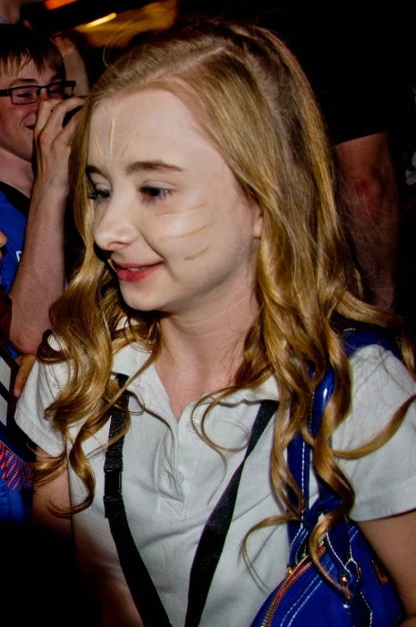 Kerry Ingram as seen at the 50th anniversary of BBC television series Doctor Who Special prom at the Royal Albert Hall in London, England in July 2013