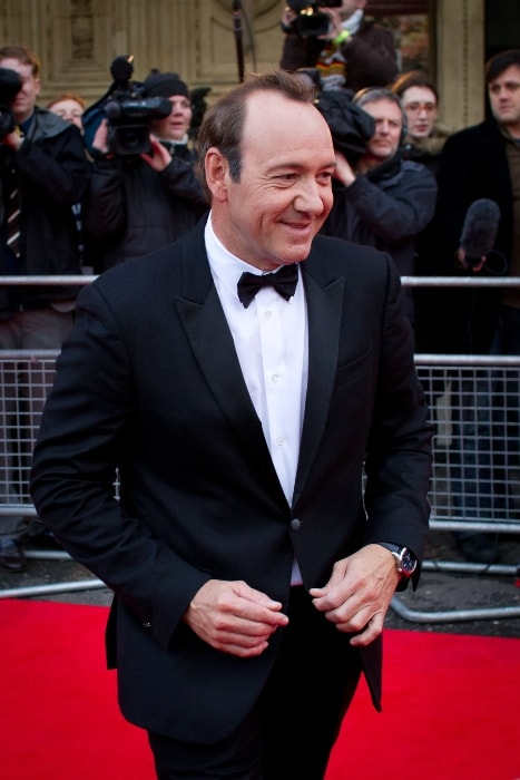 Kevin Spacey as seen at Mikhail Gorbachev's 80th birthday concert in March 2011