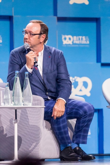 Kevin Spacey at an event in September 2017