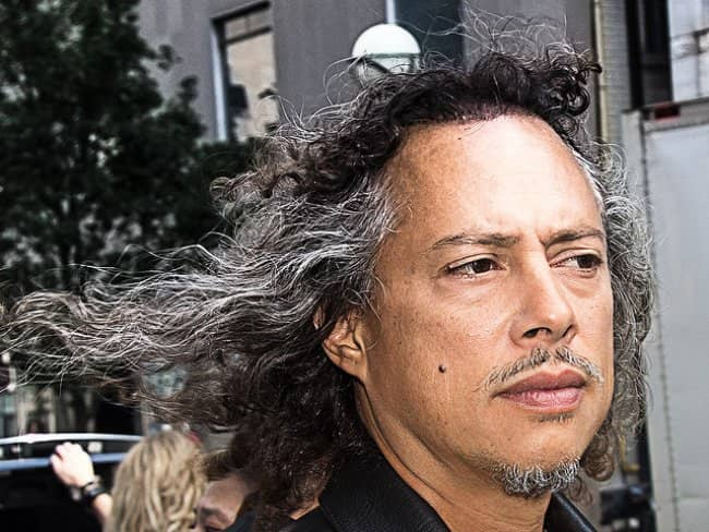 Kirk Hammett at the Toronto International Film Festival in November 2013