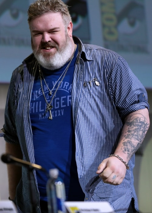 Kristian Nairn as seen in San Diego Comic-Con International for 'Game of Thrones' in July 2016