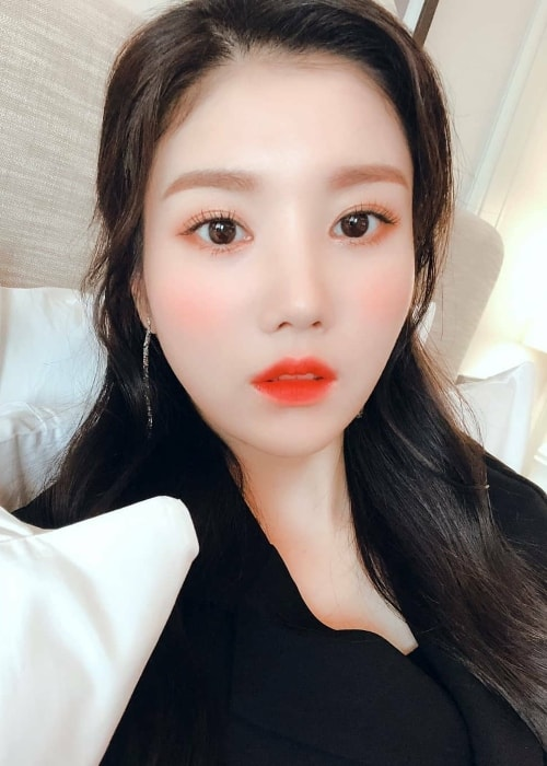 Kwon Eun-bi as seen in a selfie
