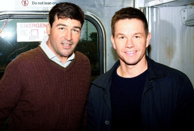 Kyle Chandler (Left) with Mark Wahlberg in November 2011