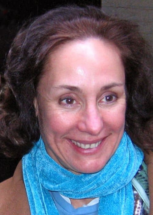 Laurie Metcalf after a performance in February 2008