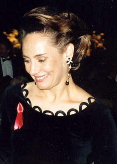 Laurie Metcalf at the 1992 Emmy award