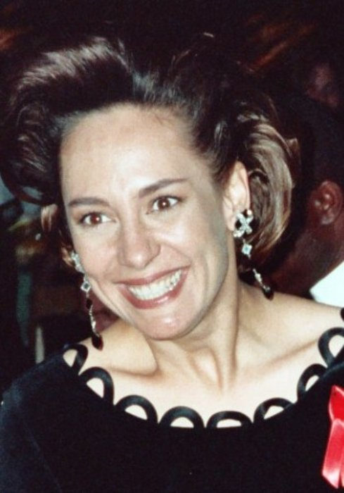 Laurie Metcalf at the Emmy Awards in August 1992