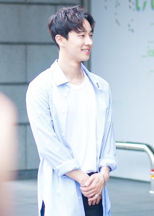 Lee Gi-kwang as seen while smiling