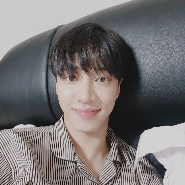 Lee Gi-kwang in an Instagram selfie in October 2018