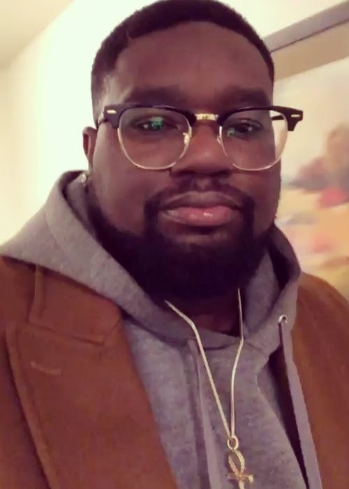 Lil Rel Howery in an Instagram selfie as seen in September 2018