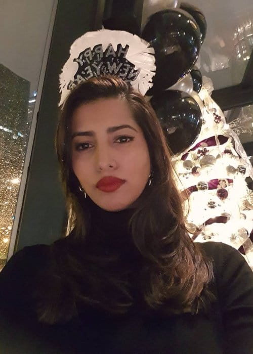 Manasvi Mamgai in an Instagram selfie as seen in January 2019